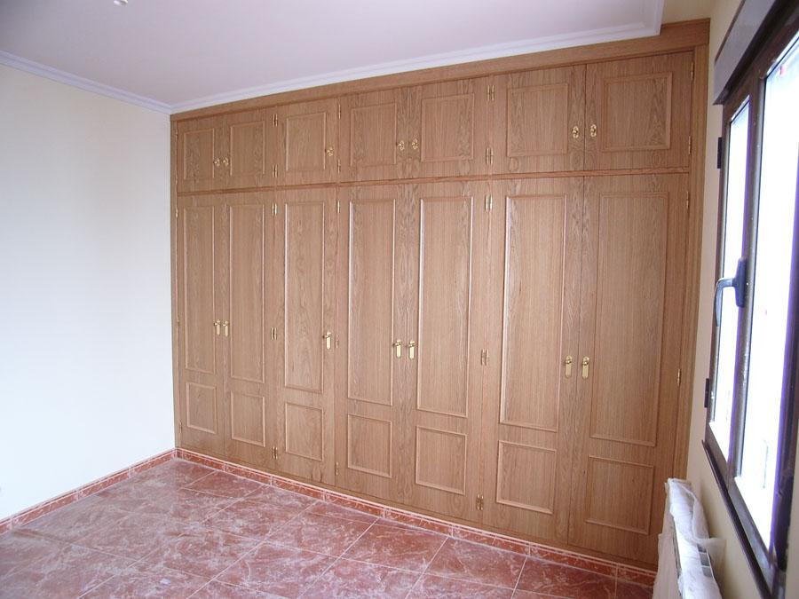 Carpinteria hernandez for Ideas para puertas de armarios empotrados