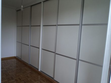 Armarios Empotrados De Aluminio Armario Empotrado Para El Hall - Armarios-empotrados-de-aluminio