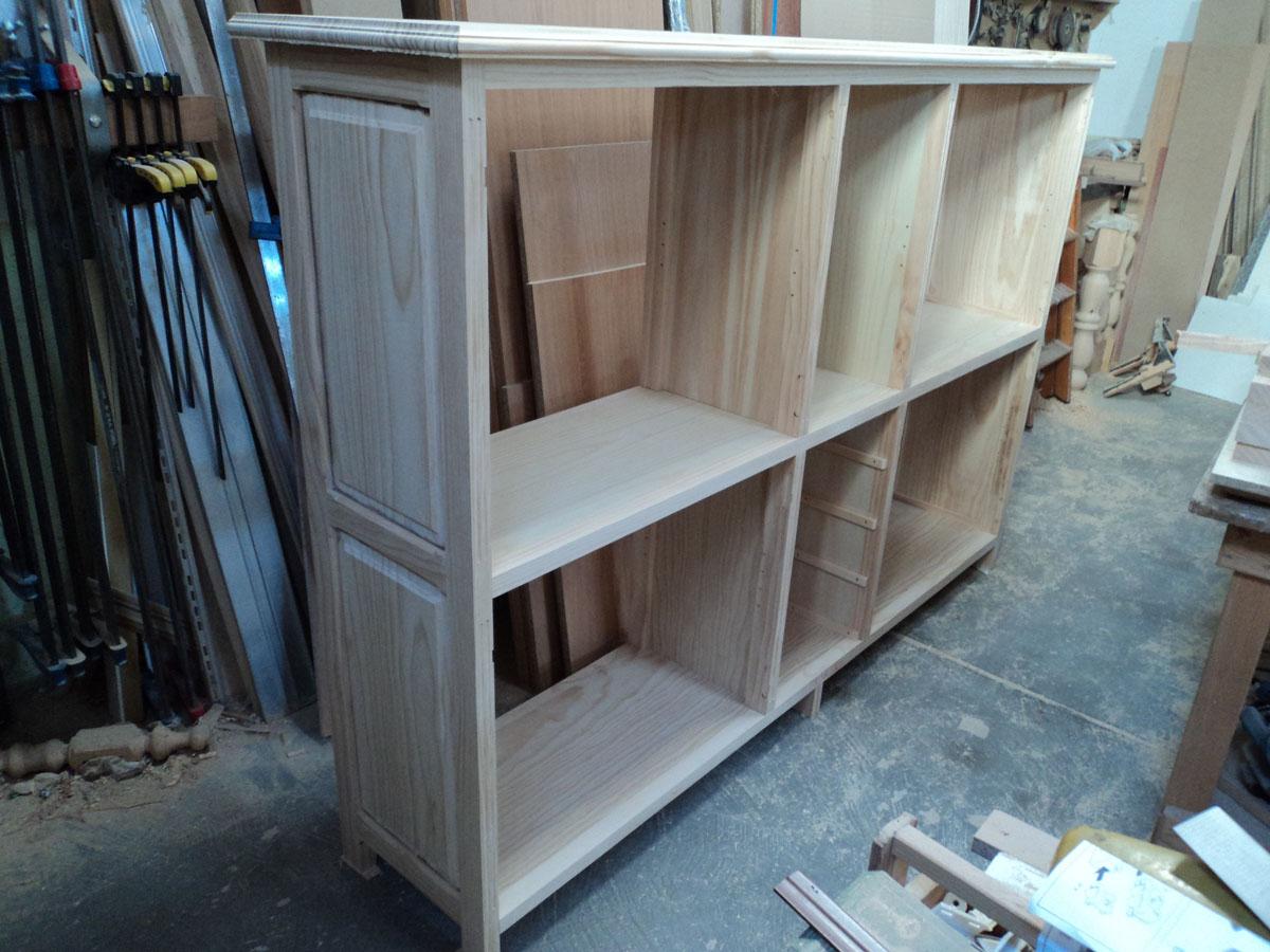 Mueble para guardar vajilla carpinter a hern ndez la encina salamanca - Muebles para vajilla ...