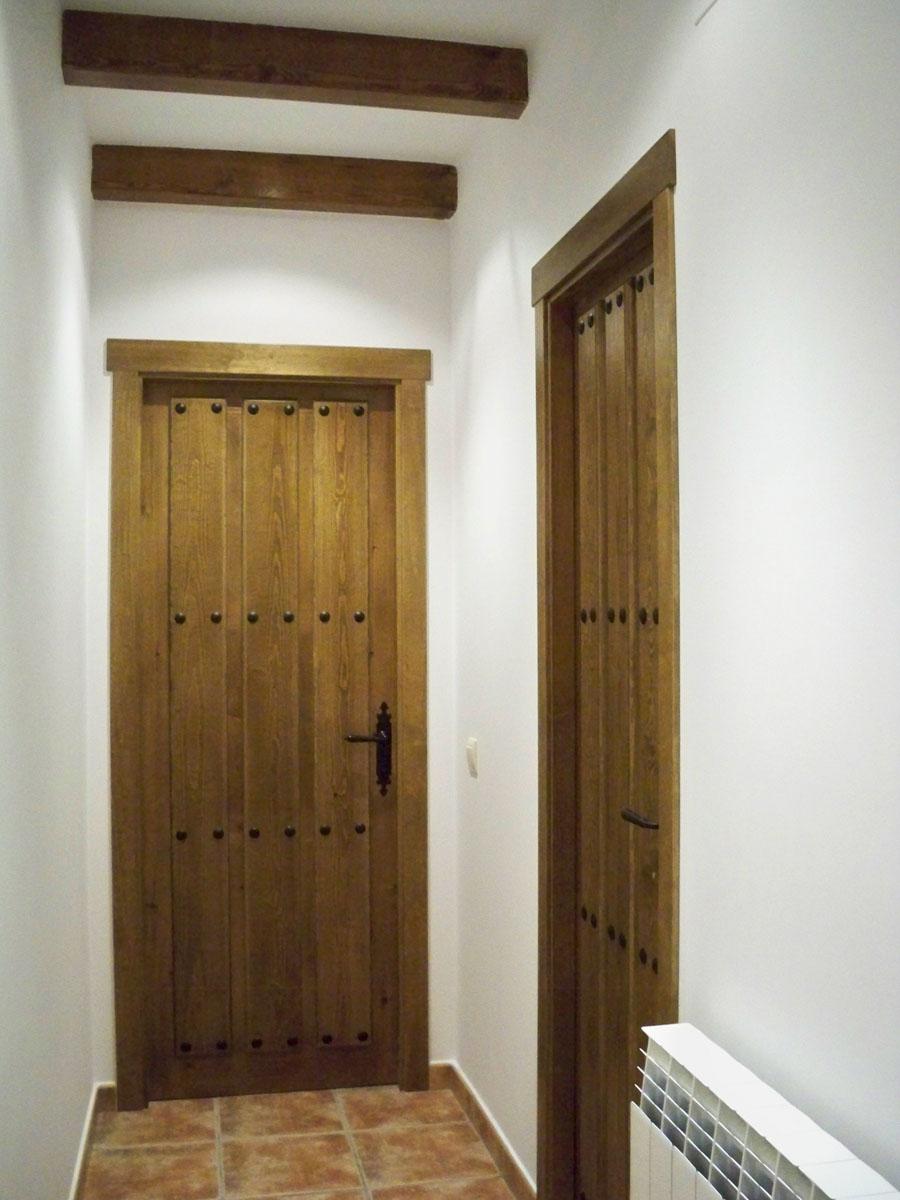 Puertas De Interior Carpinter A Hern Ndez La Encina Salamanca  ~ Tejadillos Para Puertas Rusticos
