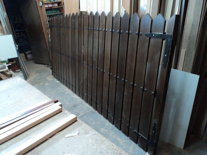 Puertas para vallas great puerta para valla de pvc with - Cancelas de madera ...